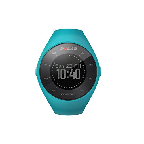 Polar M200 GPS Running Watch Blue (Marathon Heart Rate Monitor)