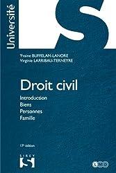 Droit civil. Introduction Biens Personnes Famille - 17e éd.: Université
