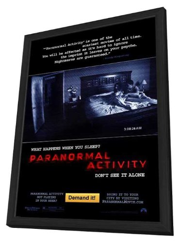 Paranormal Activity - 27 x 40 Framed Movie Poster by Movie Posters
