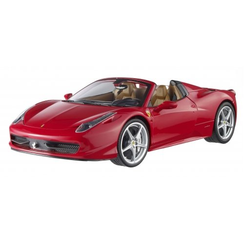 Hotwheels 1/18th Ferrari 458 Italia Spider Red