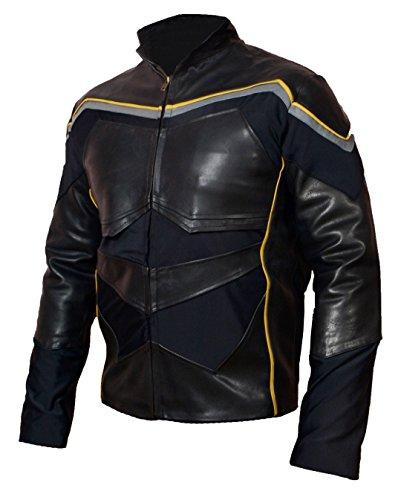 HLS Smith Hancock Black Sheep Leather Will Jacket XXS-5XL Black