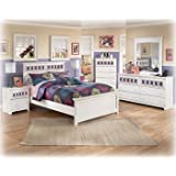 Ashley Zayley White Full Size Bed set