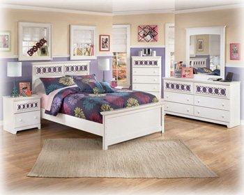 White Full Size Bedroom Set: Amazon.com