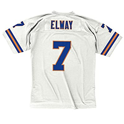 John Elway Denver Broncos White Mitchell & Ness Throwback Jersey