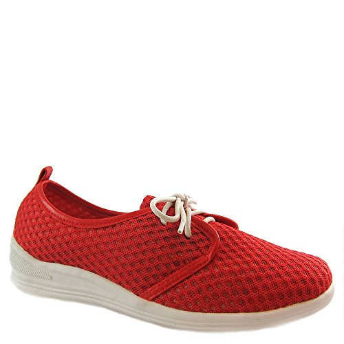 Bees By Beacon Laurie Womens Sneaker Red ZonyJ