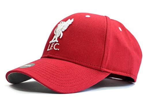 Liverpool FC Red Crest Cap - Authentic EPL Merchandise