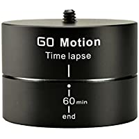 Gemtune Go Motion LT-001 360° 60 Minutes Rotating Tripod Time Lapse Stabilizer Mounts For GoPro Hero 1/2/3/4 and Interchangeable Lens Digital Cameras