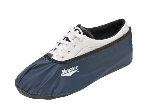 Master Industries Bowling Shoe Cover, Navy, Large (Master Covers Shoe)