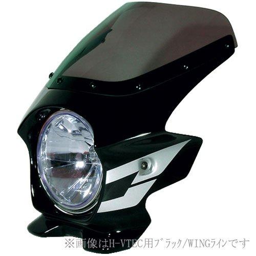 Nプロジェクト(エヌプロジェクト) ビキニカウル BLUSTERII CB400SF スタンダードスクリーン(スモーク) ブラック 21032 B001EF89J4
