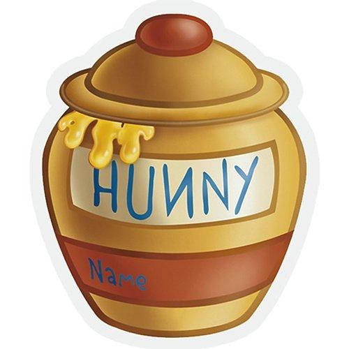 oh & Friends Birthday Hunny Pot Treats Sacks (Winnie Pooh Hunny)