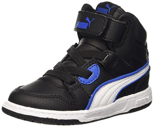 Puma Rebound Street L V Inf Baskets Mode-Noir/Blanc-7