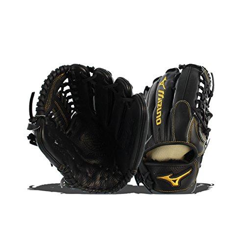 12.75 In Outfield Baseball Glove (Mizuno GCP81SBK Classic Pro Soft Baseball Glove, 12.75-Inch, Right Hand Throw)