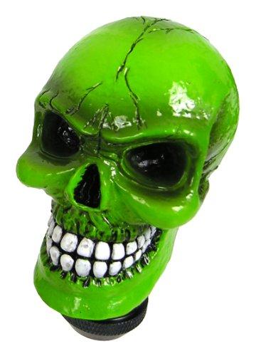 - Custom Accessories 23179 Green Skull Gear Shift Knob