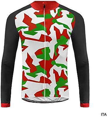 Uglyfrog Color de la Bandera con Camuflaje Bike Wear- Camiseta térmica de Hombre para Ciclismo: Amazon.es: Deportes y aire libre