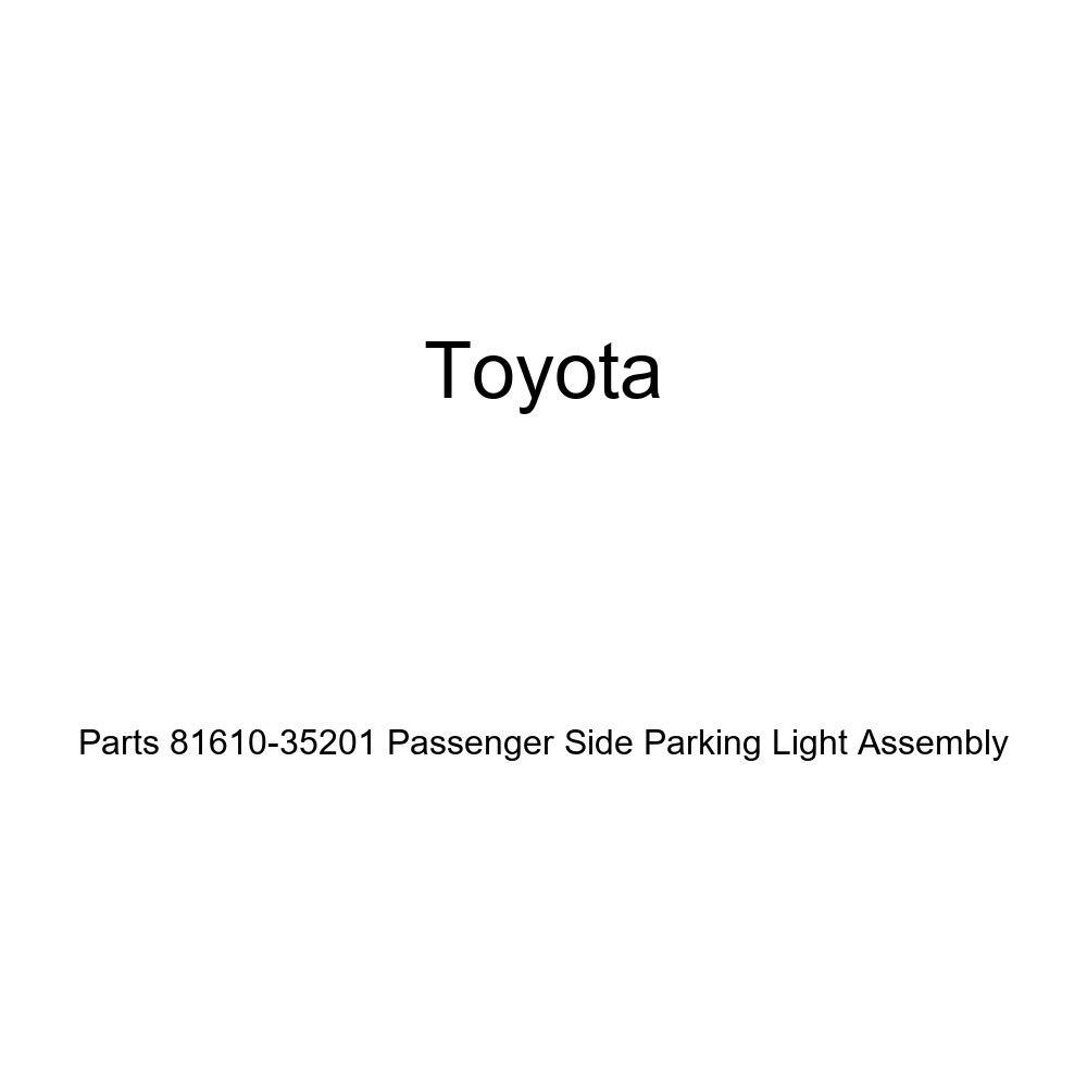 Genuine Toyota Parts 81610-35201 Passenger Side Parking Light Assembly