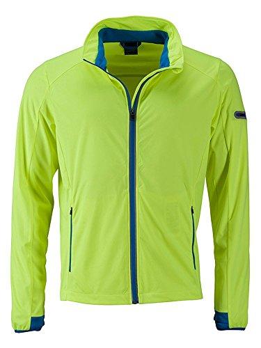 Men's Sport Per blue Tempo Bright Lo Promozionale Libero Il Funzionale E Sports yellow Jacket Giacca Softshell bright wqIvAA