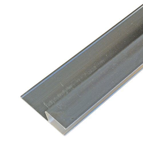 h-Profil Alu-Kartätsche 120cm Kardätsche Abziehlatte Richtlatte Abzieher Putz Putzabzieher