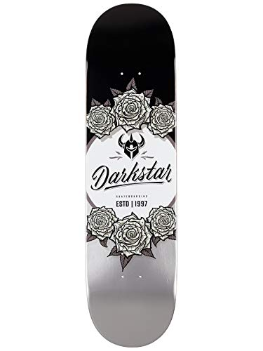 Darkstar In Bloom Black/Silver Deck 8.375 x ()