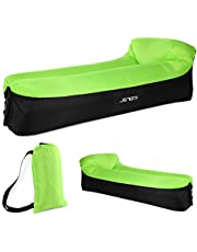 JSVER Air Sofa, Inflatable Loungers Inflatable Couch for Travelling, Outdoor, Camping, Hiking, Pool, Beach Parties, Picnic, Backyard, Lakeside, air Hammock Inflatable Lounger