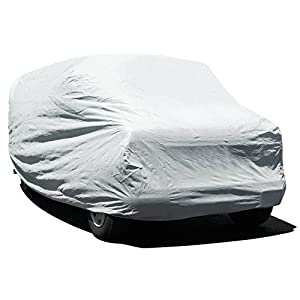 Budge Lite Van Cover Fits Full Size Vans up to 19 feet 7 inches, VB-3 - (Polypropylene, Gray)