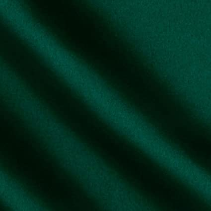 Forest Green Duchess Satin Fabric