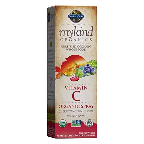Garden of Life mykind Vitamin C with Amla, Cherry Tangerine