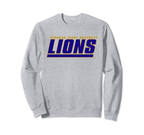 Georgian Court University Lions NCAA Sweatshirt PPGCTU07 ()