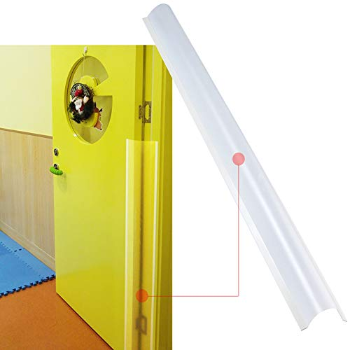 AILUOQI Finger Pinch Protector Guards for Home, Inside, Outside, Flush or Bifold Door Hinges, Gates and Pivot Doors. Door Shield Guards for Baby Proofing, Kids. Roll-up Design 47.2