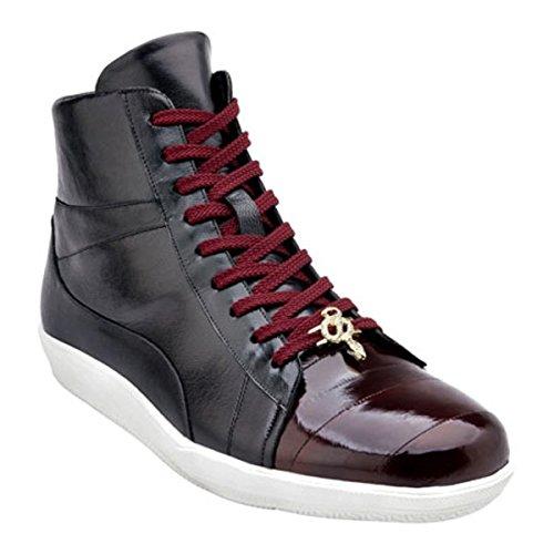 [ベルベデール] メンズ スニーカー Vitale Two-Tone High Top Sneaker [並行輸入品] B07DHQ5SPG