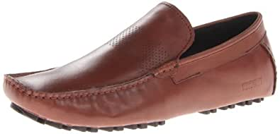 Kenneth Cole REACTION Men's Lean Into It Slip-On Loafer,Cognac,7 M US