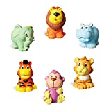 #2: Hilou Paint Your Own Animal Figurines (Elephant, hippopotamus, lion, tiger and monkey)