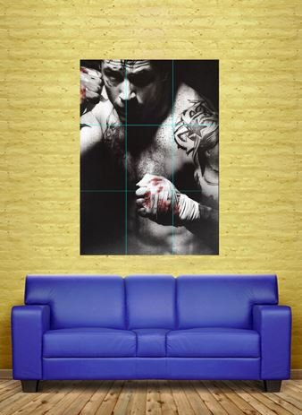 TOM HARDY WARRIOR UFC MMA MIXED MARTIAL ARTS WORK GIANT POSTER PRINT CMS NC6468