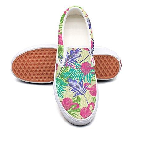 Sneaker Zebra Top Black and Love Low Womens White Slip I My on Lightweight Fashion Canvas Stripe 7r7xzdw