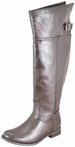 Women Breckelles Boots 82 Brown Rider Casual ZZAf1Y