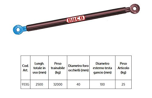 Abschleppstange f/ür LKW/ /Gewicht nachziehen 32000/KG