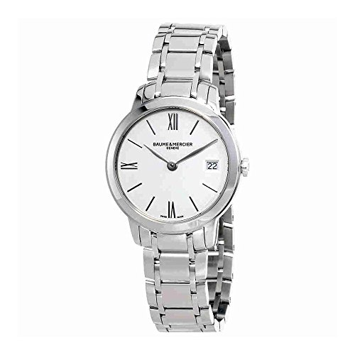Baume et Mercier Classima White Dial Ladies Watch MOA10356