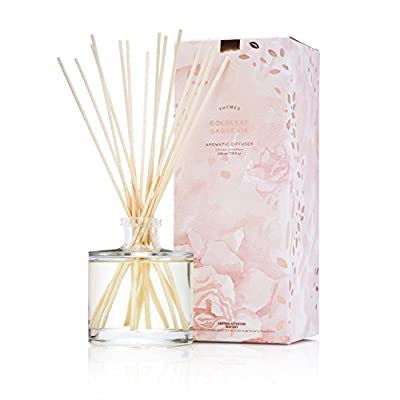 Thymes - Goldleaf Gardenia Aromatic Oil Reed Diffuser - 6.5 oz