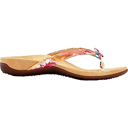 Vionic Womens Bella Synthetic Sandals White Floral