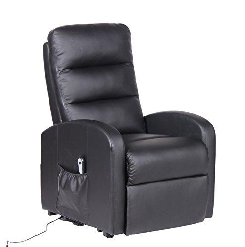 Milan CHR-BLK Houston Adjustable (Houston Leather Accent Chair)