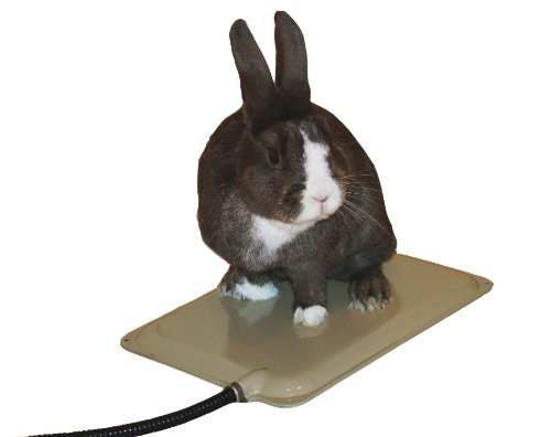 K&H Pet Products Small Animal Outdoor Heated Pad, Tan, 25W ()