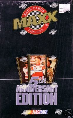 1992 Maxx Black- 5th Anniversary Edition - Factory Sealed Set (300 Card Set - Jeff Gordon ROY) - NASCAR Racing Trading Cards