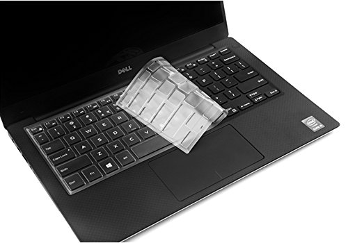 Ultra Thin TPU Clear Transparent Keyboard Cover for Dell Ins