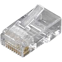 Black Box Network Services FMTP6-R2-250PAK Cat6 Modular Plugs Rj-45 250-pack