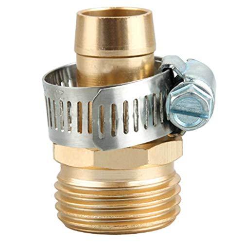 (❤Lemoning❤Garden Hose Repair Mender Kit Hose Connector 3/4 Male Female Connector)