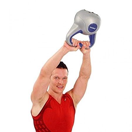 LiveUP Sports - Pesa Rusa Kettlebell 3Kg Hierro Vinilo Peso Entrenamiento Fitness Mancuernas: Amazon.es: Deportes y aire libre