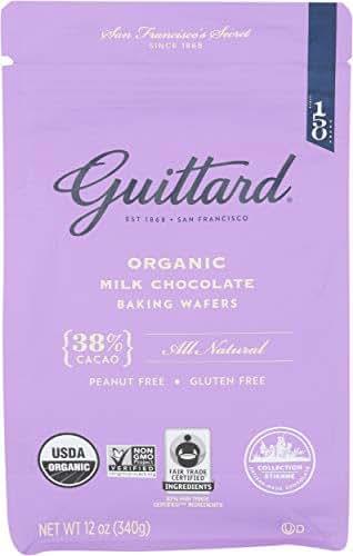 Baking Chips & Chocolate: Guittard Milk Chocolate Baking Wafers