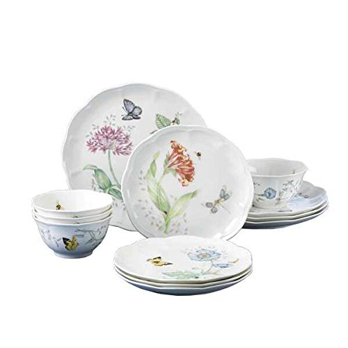 Lenox Butterfly Meadow 12-PC Dinnerware Set, Service for 4