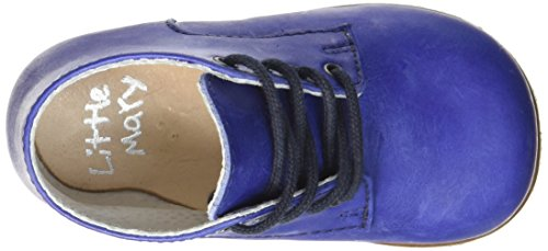 Little Mary Miloto Rc - Zapatos de primeros pasos Bebé-Niñas Azul - Bleu (Nappa Navy)