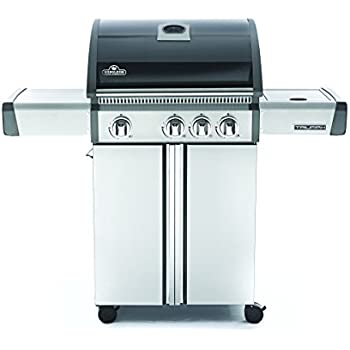 Napoleon T410SBPK Triumph Propane  with 3 Burners, Black and Stainless Steel