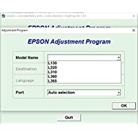 Adjustment Program Resetter Compatible With EPSON L130 L220 L310 L360